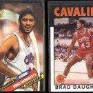 BRAD DAUGHERTY 1992 Topps Archives #6 + #78.  CAVS