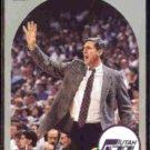 JERRY SLOAN 1990 Hoops #330.  UTAH JAZZ