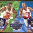 HAKEEM OLAJUWON / DREXLER 1993 SC College Mates #104.  ROCKETS