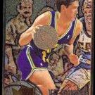 JEFF HORNACEK 1995 Metal #109.  JAZZ