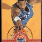 ALONZO MOURNING 1993 Skybox USA #4.  HORNETS
