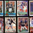 DARRYL TALLEY (8) Card Lot (1990 - 1994).  BILLS