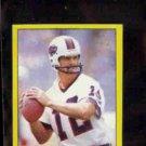 JOE FERGUSON 1982 Topps mini Sticker #169.  BILLS