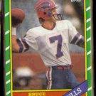 BRUCE MATHISON 1986 Topps #384.  BILLS
