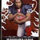MARSHAWN LYNCH 2007 Topps Wal-Mart Draft Insert #5 of 15.  BILLS