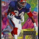 THURMAN THOMAS 1994 Flair Hot Numbers Insert #14 of 15.  BUFFALO BILLS