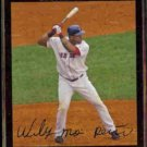 WILY MO PENA 2007 Topps #538.  RED SOX