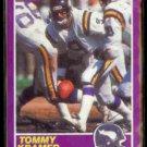 TOMMY KRAMER 1989 Score Suppliment #364S.  VIKINGS