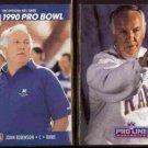 JOHN ROBINSON 1990 Pro Set #426 + 1991 Portraits #216.  RAMS