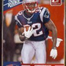 DEVIN McCOURTY 2010 Donruss Rated Rookie #30.  PATRIOTS