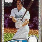 WES HELMS 2011 Topps Diamond Sparkle #557.  MARLINS