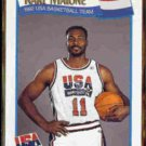 KARL MALONE 1991 Hoops USA #580.  JAZZ