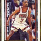 KENNY ANDERSON 1992 Topps GOLD Insert #95.  NETS