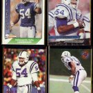 JEFF HERROD (4) Card Lot (1991, 1993 + 1995).  COLTS