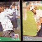 PAUL AZINGER 1991 Pro Set #86 + #272 Stat Leader.  PGA