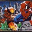 WOLVERINE vs. SPIDER-MAN 1994 Ultra #142 - glossy - MARVEL