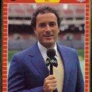 AL MICHAELS 1989 Pro Set Announcer #3.  ABC
