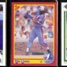 TIM RAINES (3) Card Lot (1990 + 1991).  WHITE SOX / EXPOS