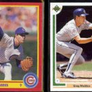 GREG MADDUX 1990 Score #403 + 1991 Upper Deck #115.  CUBS