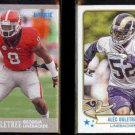 ALEC OGLETREE 2013 Ultra Rookie + 2013 Topps Magic RC.  BULLDOGS / RAMS