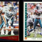 TROY VINCENT 1993 Select #74 + 1993 Score #322.  DOLPHINS