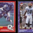 EVERSON WALLS 1989 Score #171 + 1993 Edge #274.  COWBOYS / BROWNS