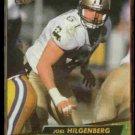 JOEL HILGENBERG 1992 Ultra #262.  SAINTS