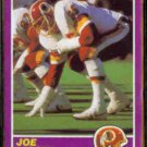 JOE JACOBY 1989 Score Suppliment #413S.  REDSKINS