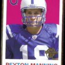 PEYTON MANNING 2005 Topps 50 Years Stamp Insert #TB4.  COLTS