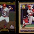 SCOTT ROLEN 1996 Upper Deck SP Prospects + 1998 Topps.  READING / PHILLIES