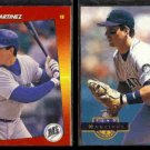 TINO MARTINEZ 1992 Triple Play #259 + 1994 Pinnacle #129.  MARINERS