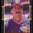 TOM CANDIOTTI 1987 Donruss #342.  INDIANS
