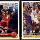 HORACE GRANT 1992 UD McDonald's Insert #P6 + 1991 UD #181.  BULLS