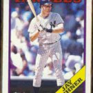 JAY BUHNER 1988 Topps Traded #21T.  YANKEES