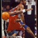 ALLEN IVERSON 1996 Fleer Rookie #235.  76ers