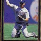 JAY BUHNER 1992 Leaf Black GOLD Insert #128.  MARINERS