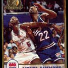 LIONEL SIMMONS 1993 Hoops GOLD Insert #191.  KINGS