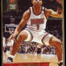 DAVID WESLEY 1993 Ultra Rookie Free Agent #299.  NETS