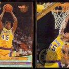 A.C. GREEN 1992 Ultra #91 + 1994 Upper Deck #141.  LAKERS