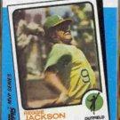 REGGIE JACKSON 1982 Topps KMart #23 of 44.  A's