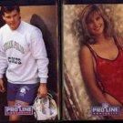 ROHN STARK 1991 Portraits #155 + ANN STARK 1993 Portraits #26.  COLTS