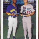 KEN GRIFFEY Jr. / Ryne Sandberg 1991 Upper Deck Final #79F.  MARINERS