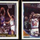 GREG ANTHONY 1992 Topps Gold + 1993 Topps Gold Inserts.  KNICKS