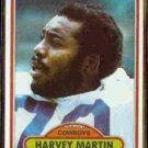 HARVEY MARTIN 1980 Topps #270.  COWBOYS
