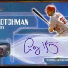 CASEY KOTCHMAN 2004 Topps Certified Autographed Issue #TA-CK.  ANGELS