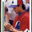 DAVE MARTINEZ 1991 Upper Deck #186.  EXPOS