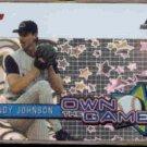 RANDY JOHNSON 2005 Topps Own The Game Insert #OG29.  DBACKS