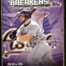 JEFF BAGWELL 2002 Topps Record Breakers Insert #RB-JB.  ASTROS