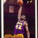JAMES WORTHY 1993 Fleer #105.  LAKERS