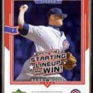 KERRY WOOD 2004 UD All Star Lineup #AS-KW.  CUBS